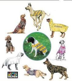 LARGE DOG COATS Sewing Pattern
