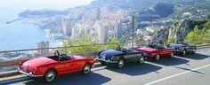 Alfa Romeo Spider, Old Sports Cars, Sport Cars, Cabriolet, Spiders, Maserati, Monaco, Nice, Autos