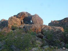 Orbicular Granite at Sunrise.