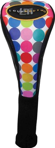 Fairway Headcovers by Loudmouth Golf - Disco Balls White.  Buy it @ ReadyGolf.com