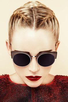 Gafas de sol redondas - Round sunglasses                                                                                                                                                                                 Más