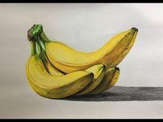 Colored Pencil Artwork, Color Pencil Art, Colored Pencils, Drawing Sketches, Pencil Drawings, Art Drawings, Drawing Drawing, Fruits Drawing, Food Drawing