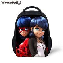 764386c17a WHOSEPET School Backpack Miraculous Ladybug Kids School Bags Kindergarten  Bookbag Baby Girls Backpacks Children Bolsa Infantil(China)