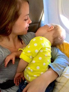 10 tips for flying with a one-year old (or younger baby). Also, advice for getting through security easily