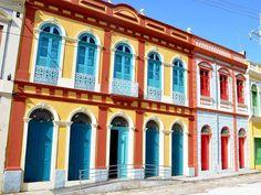 Casario, no bairro do Comércio - Belém do Pará, Brasil.