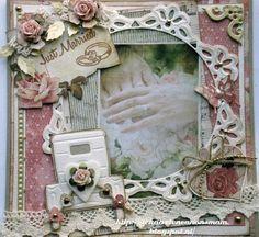 Hallo Allemaal,   Vandaag een trouwkaart, op verzoek, met het plaatje met de handen van Studio Light en de auto..  Ik heb als een eerder hi...