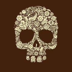 Skull Art iPad Wallpaper HD