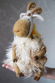Авторские игрушки Валентины Красновой - валяние из шерсти / Мишки Тедди (Teddy Bear) - фото, картинки, открытки / Бэйбики. Куклы фото. Одежда для кукол
