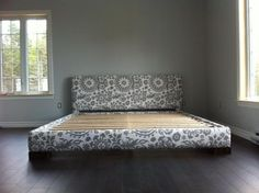 Upholstered bed frame (King size) | Do It Yourself Home Projects from Ana White                                                                                                                                                                                 Mais