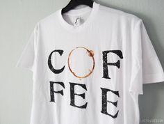 coffee t-shirts ~ LucybyDesign