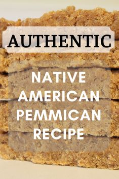 Energy bars are for amateurs. Jerky is lame. If you want a real snack for the wilderness, you've got to try this Native American pemmican recipe. #StudentSurvivalKits