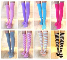 Color:pink.purple.rose red.gray.pink dot.orange stripes.pink blue white stripes.purple orange white stripes. Size:free size. Fabric material:cotton. Tips: *Please double check above size and consider