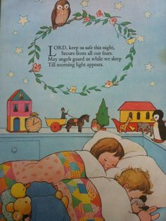 Christian Childrens Poem by Lucie Mabel Attwell by ThePaperPast