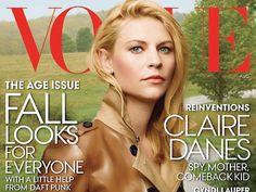 Claire Danes protagoniza la portada de Vogue ~ ActorsZone