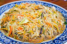 pumpkin rice vermicelli | Taiwanese food