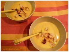 Zupa z dyni - na mleku z dodatkiem Maggi