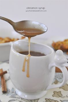 Pour it on everything Cinnamon Syrup!