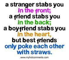 (best friends,quote,cute)