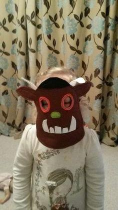 Gruffalo mask for world book day
