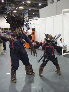 Groot and Rocket Raccoon costumes Guardians of the Galaxy