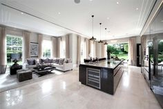 Ascot Design is a commercial and residential architect in Berkshire with 30 years' industry experience. Two Bedroom Suites, Cocinas Kitchen, Villa, Residential Architect, Diy Home, Open Plan Kitchen, Kitchen Ideas, Kitchen Designs, Interior Decorating