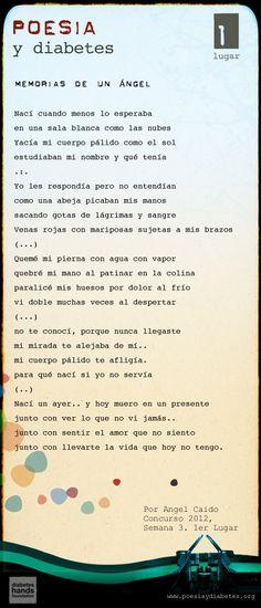 """""""Memorias de un Ángel"""", por Ángel Caído. Poema , ganador del 1er. Lugar de la 3era. Semana del Concurso """"Poesía y Diabetes"""" de #EsTuDiabetes.    Lea éste y el resto de los poemas ganadores aquí: http://www.estudiabetes.org/profiles/blogs/los-ganadores-del-concurso-de-poes-a-2012-tercera-semana"""