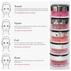 Blusher tutorial! Here's some handy tips on how to apply blusher for different face shapes. Use Younique's blusher for the perfect blush! #SkinCareTipsForTeens #HowToApplyEyeliner #BeginnerMakeupTutorial #HowToCleanMakeupBrushes