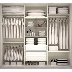 New Ideas For Bedroom Storage Closet Organisation Dressing Rooms Wardrobe Design Bedroom, Master Bedroom Closet, Wardrobe Storage, Bedroom Wardrobe, Wardrobe Closet, Closet Storage, Bedroom Storage, Closet Organization, Wardrobe Organisation