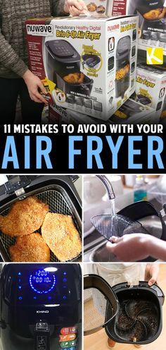 11 common air fryer mistakes