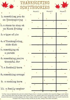 thanksgiving Games for adults Thanksgiving Activities For Kids, Thanksgiving Traditions, Thanksgiving Parties, Holiday Activities, Thanksgiving Crafts, Thanksgiving Trivia, Outdoor Thanksgiving, Free Thanksgiving Printables, Thanksgiving Appetizers