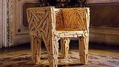 Los brasileños hermanos Campana son famosos por sus diseños con materiales sostenibles.