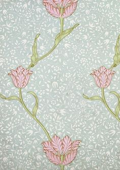 Furnishing textiles and tapestry William Morris Wallpaper, William Morris Art, Morris Wallpapers, Rose Wallpaper, Fabric Wallpaper, Pattern Wallpaper, Textile Patterns, Print Patterns, William Morris Patterns