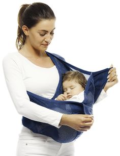 baby sling connection air made by Wallaboo