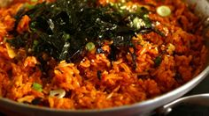 Kimchi fried rice Kimchi-bokkeumbap 김치볶음밥