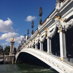 Pony Alexandre III - the most decadent bridge in #paris