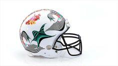 Bid on this helmet here! via StyleList