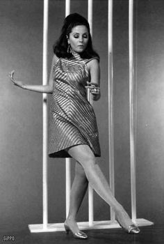 Barbara Parkins in the film 'Valley Of The Dolls', 1967.