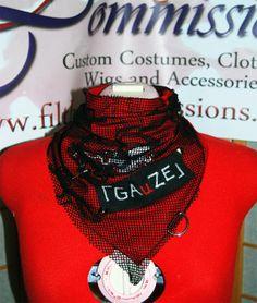 GAuZE Fashion Bandanna by FilthyCommissions on Etsy, $15.00