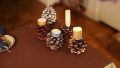 Making pine cone candle holders is a great opportunity to use glitter, some votives and a few other key tools. Make pine cone candle holders with help from a longtime craft professional in this free...