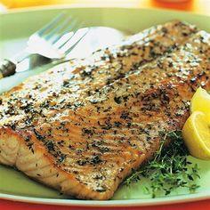 Spring Thyme Salmon