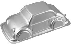 Wilton Car Cake Pan Silver - Create a unique and delicious cake for your birthday kid (or kid at heart) with the Car Cake Pan from Wilton. Fill it with any cake mix or equivalent amount of batter from your recipe. 3d Birthday Cake, Cars Birthday Parties, Car Birthday, Birthday Ideas, Wilton Cake Pans, Cake Mold, Car Shaped Cake, Boutique Patisserie, 2 Layer Cakes