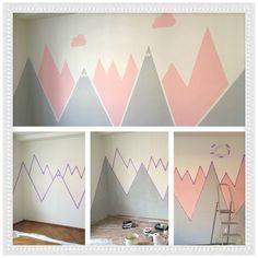 Room Wall Painting, Kids Room Paint, Nursery Paintings, Room Kids, Kids Rooms, Playroom Paint, Play Rooms, Playroom Decor, House Painting