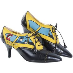 Preowned 80's Moschino Car&driver Shoe - Unworn
