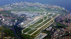 Aeropuerto internacional Ataturk en Estambul, Turquia