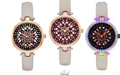 Oh Look at the Time! vector watch by student Page Sias