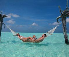 I want a hammock! & this scene...