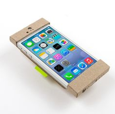 Chipster, recycled chipboard iPhone case by pprwrk studio
