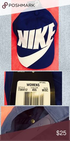 Nike Women's Hat in Royal Blue Hello everyone❤️Welcome to my closet❤️  My prices are already VERY Reasonable for brand name items, please be considerate with your offers! ✔️OFFER OPTION ONLY✔️  ➰I work full time and go to school part time and do this so I try to ship ASAP so please be patient with me➰  ➰Have questions? Just ask!➰  ➰NO SMOKE HOUSEHOLD➰  ❌NO HOLDS, TRADES, TRY-ONS, LOWBALLERS❌ ❤️Thank you for your business❤️ Nike Accessories Hats