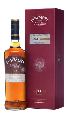 Bowmore 23 Years Old Port Matured 1989 | Bowmore Islay Single Malt Whisky available from Whisky Please.