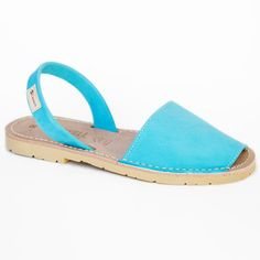 Menorquinas Nubuck Turquoise, $99, now featured on Fab.